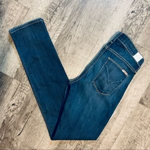Hudson Collete Straight Leg Stretch Jeans Size 27